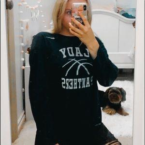 DRI FIT Lady Panthers Nike Long Sleeve Tee